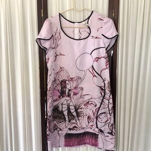 Vintage Prada silk summer dress